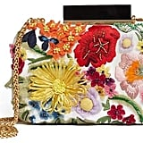 Alice + Olivia Shirley 3D Floral Clutch