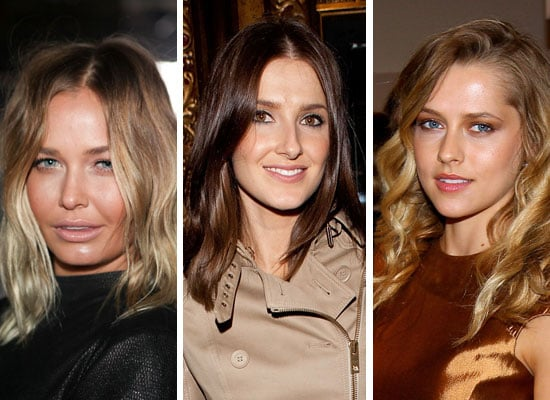Photos Of Hair and Makeup on Celebrities Front Row at 2011 Rosemount Australian Fashion Week