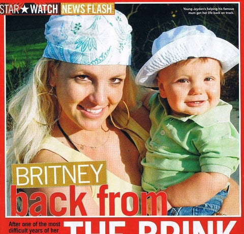Britney's Surprise Show!!!! Oh and Hello Jayden!!!!