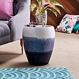 Ceramic Multi-Color Side Table