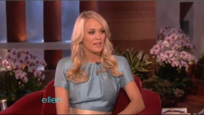 """Carrie Underwood on Life With """"Hoarder"""" Husband Mike Fisher"""