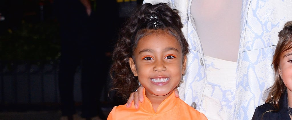 North West's Rainbow Braids at Birthday Party