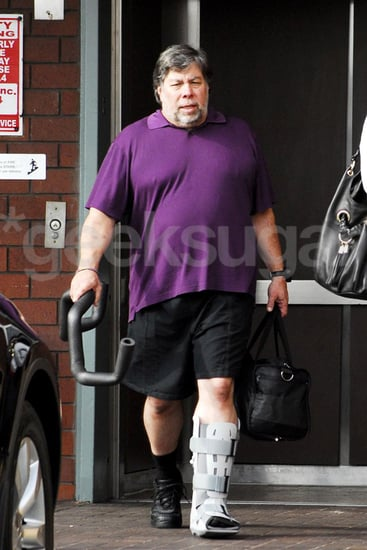 Steve Wozniak Injures His Leg During His Dancing With the Stars Practice on Wednesday
