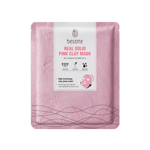 Besone Real Solid Pink Clay Mask ($7)