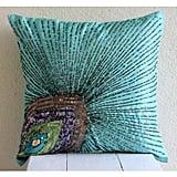 Aqua Blue Pillow Covers ($29)