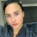 See Demi Lovato s Stunning Makeup-Free Selfie:  Loving and Accepting Myself the Way I Am