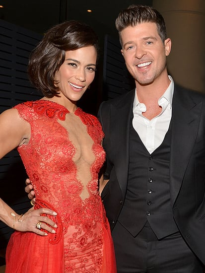 Paula Patton Shares Sweet Throwback Photo with Ex Robin Thicke: 'No Regrets!'