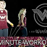 5-Minute Wonder Woman Workout