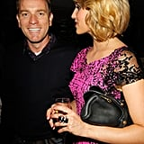 Ewan McGregor and Dianna Agron chatted at a party at the Soho House.