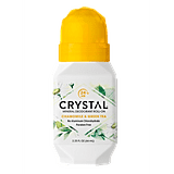 Crystal Mineral Deodorant Roll-On in Chamomile & Green Tea
