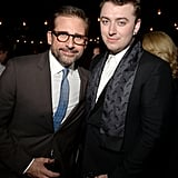 Steve Carell and Sam Smith attended the 2014 GQ Men of the Year party in Hollywood.