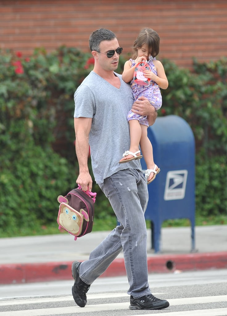 Freddie Prinze Jr. held on to little Charlotte.