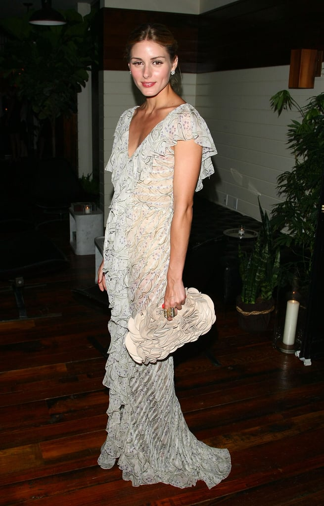 A romantic maxi at the Inglourious Basterds screening in 2009.