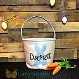 Plush Personalized Easter Basket