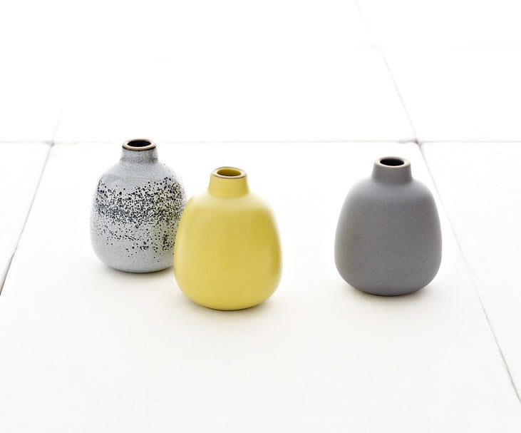 Heath Ceramics Bud Vase Set Holiday Gift Guide Under 200
