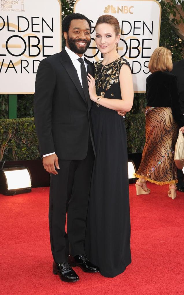 Chiwetel Ejiofor and ex-girlfriend Sari Mercer