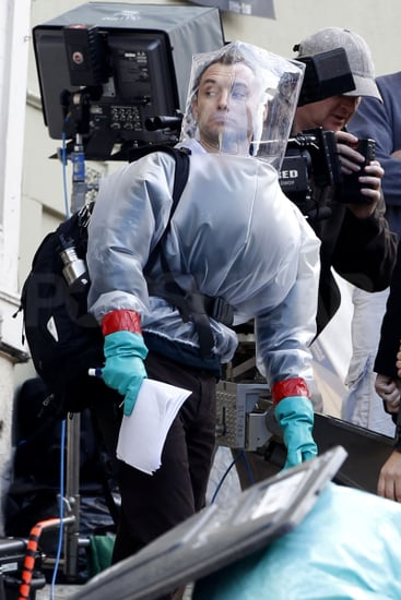 Pictures of Jude Law Filming Contagion in San Francisco as Rumours Claim Sienna Miller Is Close to Tom Sturridge