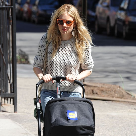 Sienna Miller With Baby Marlowe in Stroller | Photos