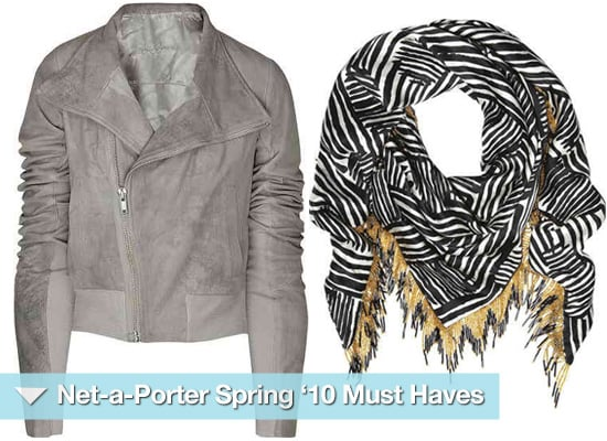 Net a Porter Must Have Items for Spring Summer 2010