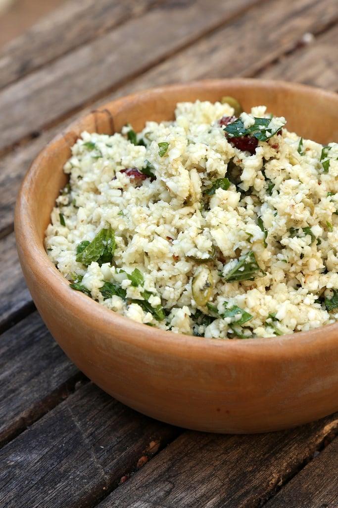 Middle Eastern Cauliflower Couscous