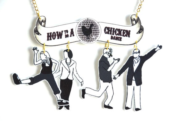 How to Do a Chicken Dance Necklace ($21)