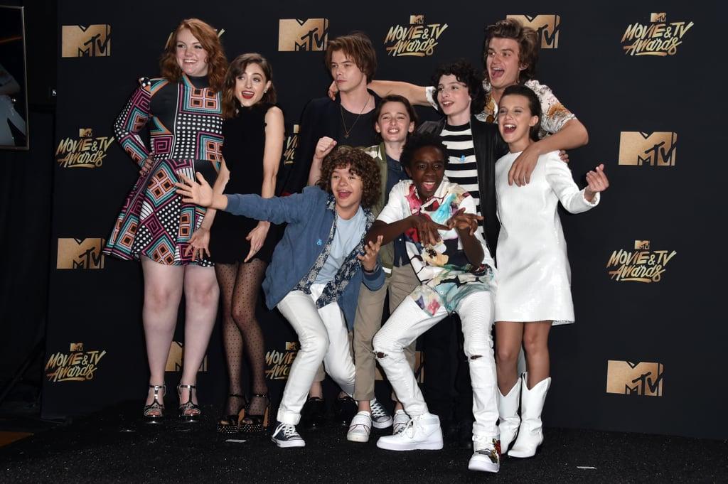 Stranger Things Cast Speech at 2017 MTV Movie and TV ... Finn Carter Now