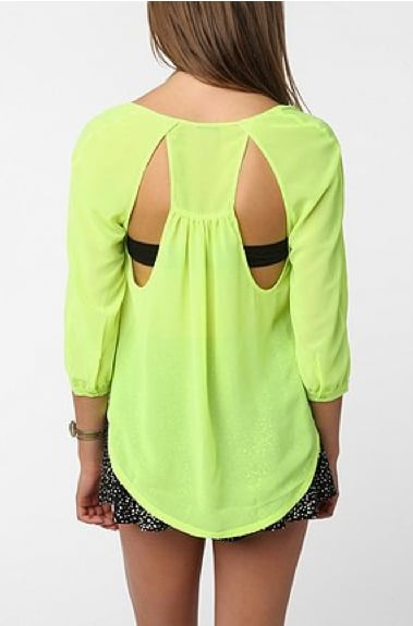 Weekend Brights: Punchy Tops