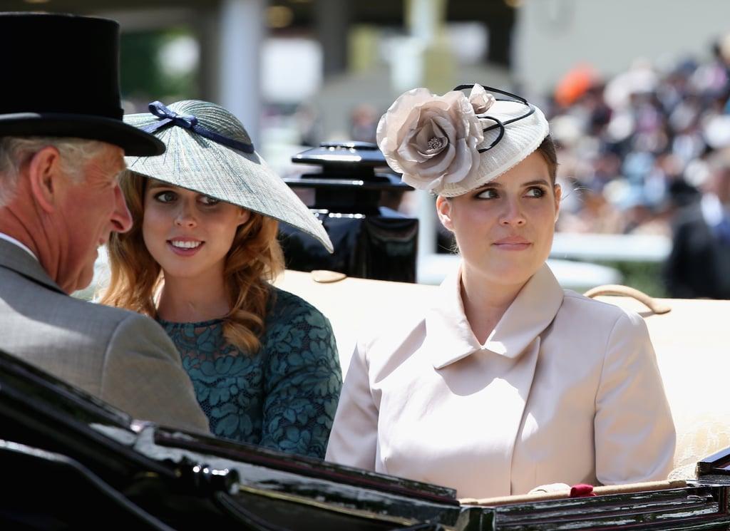 Princess Beatrice and Princess Eugenie, Royal Ascot 2014