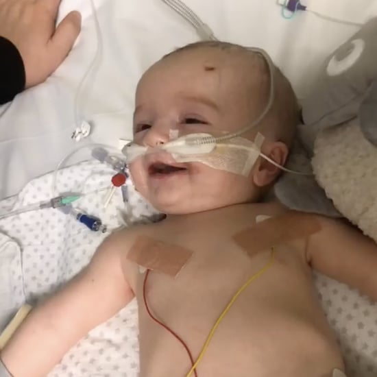Baby Smiles at His Dad After Waking Up From a Five-Day Coma