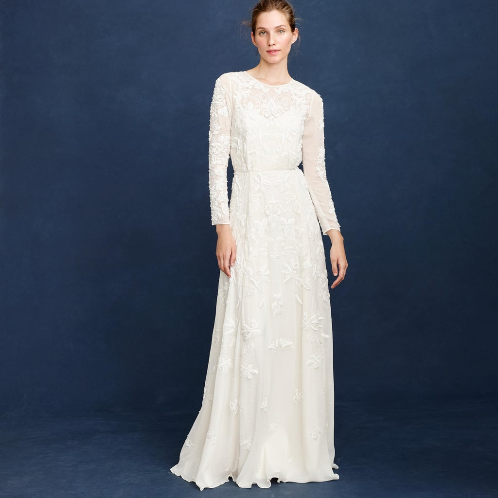 J crew florence gown 1 900 originally 2 650 j crew for J crew wedding dresses