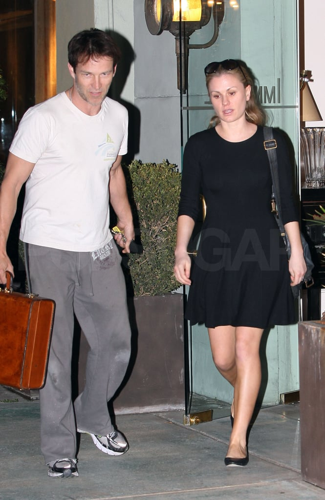 Anna Paquin and Stephen Moyer Spend Downtime Sprucing Up Their House