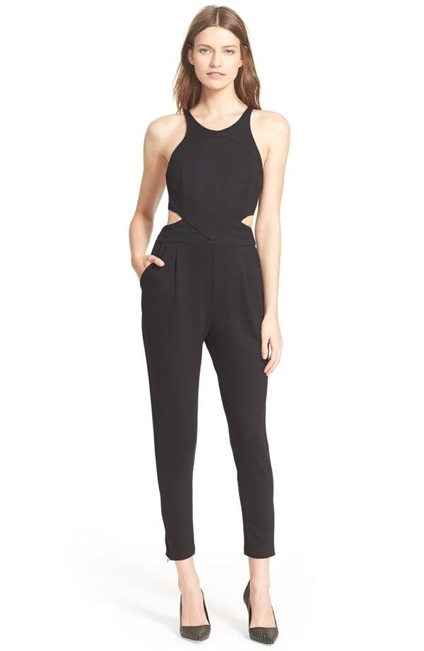 Hunter Bell Katie Cutout Crop Jumpsuit ($275)