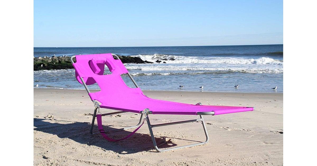 with Beach hole chair face