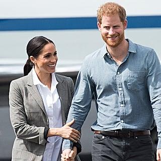Prince Harry Swatting Away Flies in Australia Video