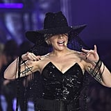 Lady Gaga Wore a $1 Million Hat at the Victoria's Secret Fashion Show