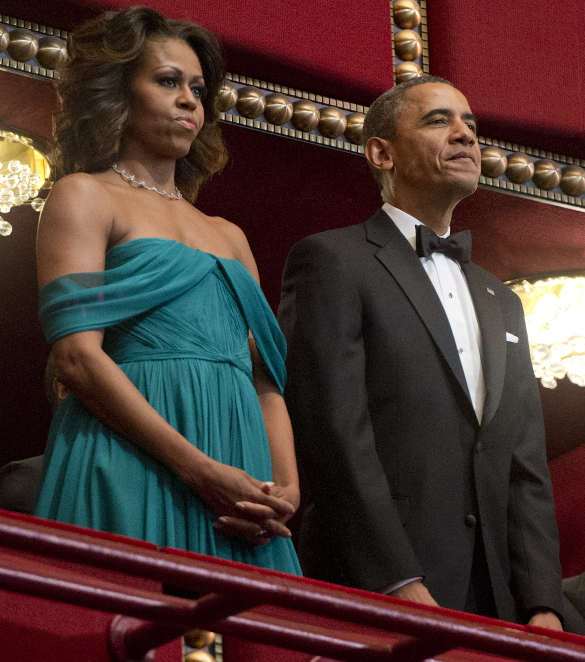 b1d39967ad High School Couple Dresses as Obamas For Prom | POPSUGAR News