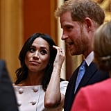 Prince Harry and Meghan Markle at Young Leaders Awards 2018