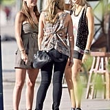 Photos of The Hills Girls Filming