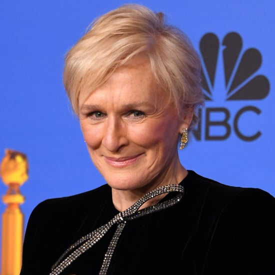 Glenn Close Backstage at the Golden Globes 2019
