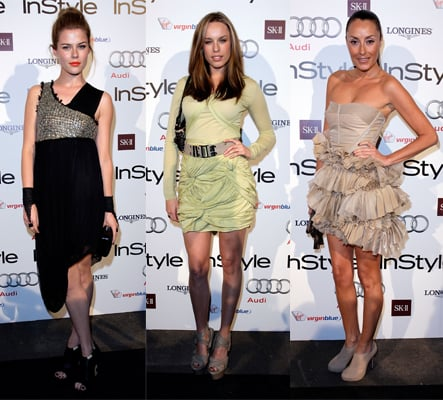 """Last night's InStyle and Audi Women of Style Awards attracted a fashionable mix of Australian celebrities and designers. Nicole Kidman, who was unable to attend the event due to filming commitments overseas, took home two gongs for readers' choice and the news and entertainment category. Other winners include Kirrily Johnston for fashion, Deborra-Lee Furness for charity/community, and Deborah Mailman for arts/culture. Kidman pre-recorded a special video message where she said """"style means having a voice, it means not compromising who you are because of what people say, it means standing proud, and knowing that sometimes you are going to go in and out of fashion, but still, staying true to yourself."""" Amen to that! To check out the glitz and glamour from the red carpet, click through our gallery."""