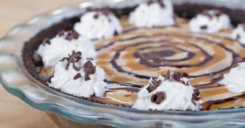 No-Bake Frappuccino Cheesecake Pie