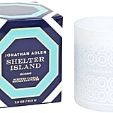 With cool masculine undertones of fir balm, sage, and sand the Shelter Island candle ($28) will make your home smell like a Northeastern beach escape.