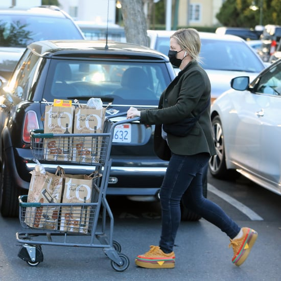 Amy Poehler Wears Dolls Kill Cheeseburger Sneakers