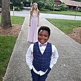 Sweet 7-Year-Old Boy Stages Mini Prom For His Nanny