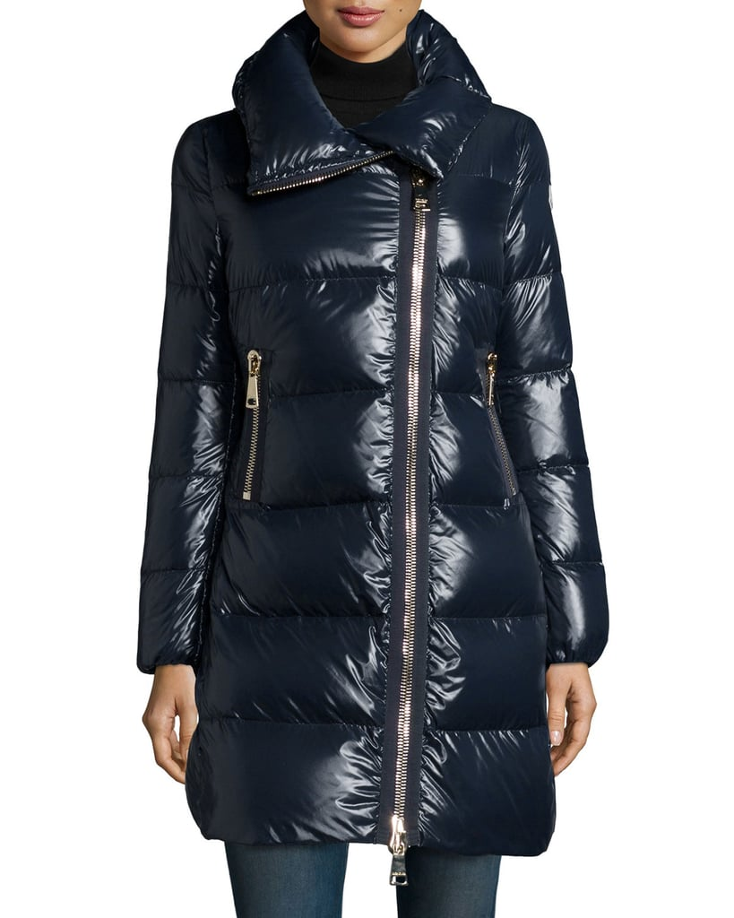 Moncler Joinville High-Collar Puffer Jacket ($1,630)