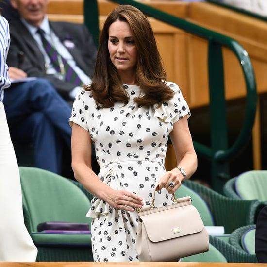 Kate Middleton Outfit at Wimbledon Women's Final 2018