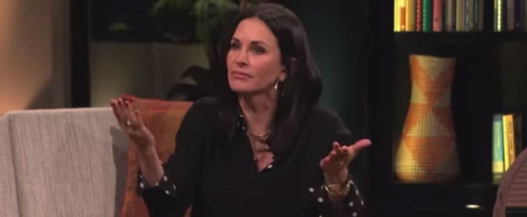 Lisa Kudrow and Courteney Cox Playing Friends Trivia Video