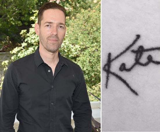 Michael tattooed his wife, Kate Bosworth's, signature on the inside of his left arm.