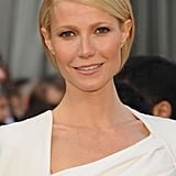 Gwyneth Paltrow smiled at the 2012 Oscars.