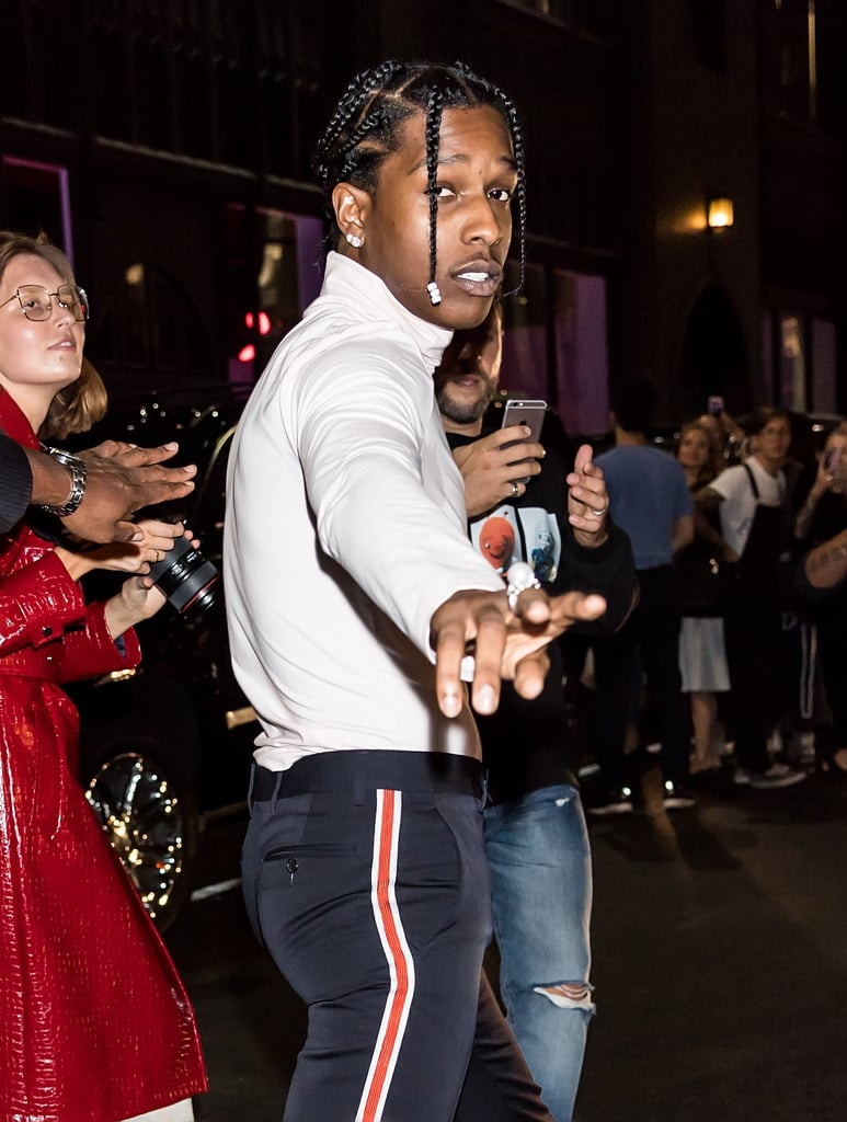 Pictured: A$AP Rocky